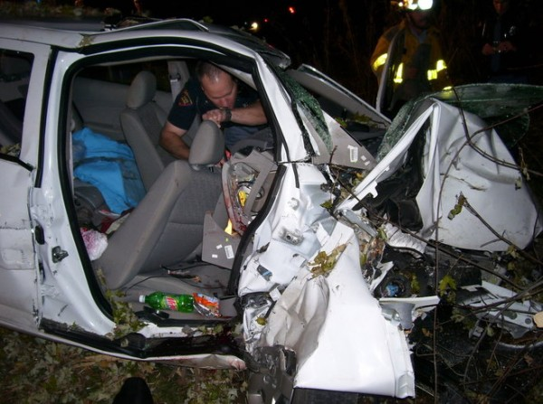 Two women died in this crash tied to the failed recall by General Motors  (Photo/St. Croix County Sheriff's Office)