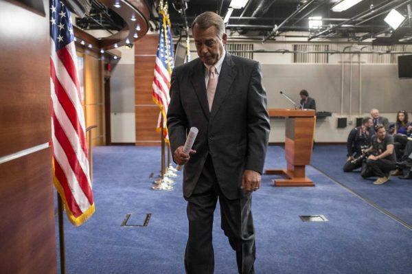 Speaker of the House John Boehner (R-OH)  (REUTERS/Joshua Roberts)