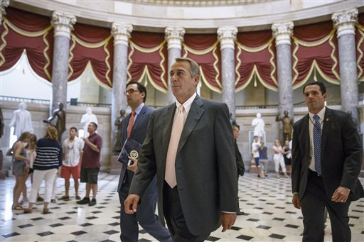House Speaker John Boehner of Ohio  (AP Photo/J. Scott Applewhite)