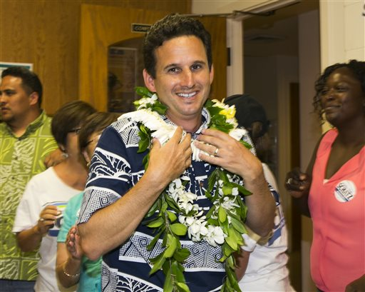 US Sen. Brian Schatz  (AP Photo/Marco Garcia)