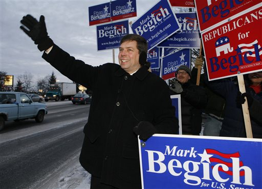Sen/ Mark Begich  (AP Photo/Al Grillo)