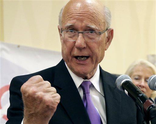 U.S. Sen. Pat Roberts  (AP Photo/Charlie Riedell)