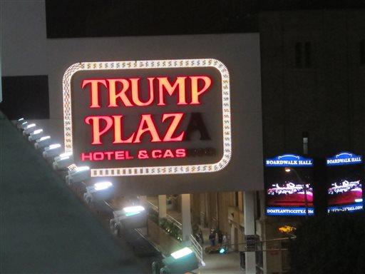Trump Plaza Hotel & Casino in Atlantic City  (AP Photo/Wayne Parry)