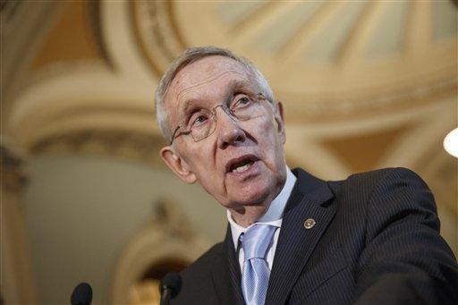 Senate Majority Leader Harry Reid, D-Nev. (AP Photo/J. Scott Applewhite, File)