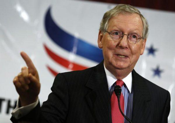 Senate Minority Leader Mitch McConnell (R-KY)  (REUTERS/Yuri Gripas)