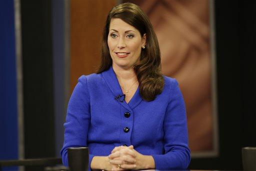 Kentucky Secretary of State Alison Lundergan Grimes (AP Photo/The Lexington Herald-Leader, Pablo Alcala, Pool)