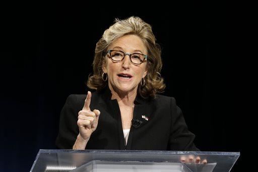 Sen. Kay Hagan, D-N.C.  (AP Photo/Gerry Broome, Pool)