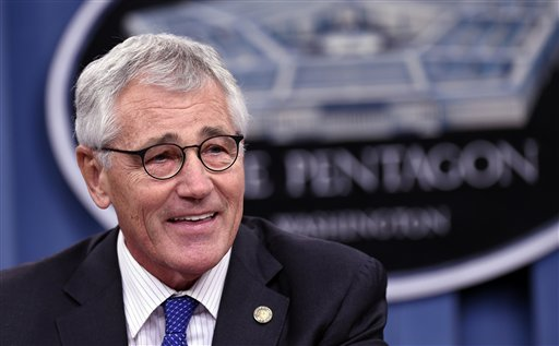 Defense Secretary Chuck Hagel (AP Photo/Susan Walsh)