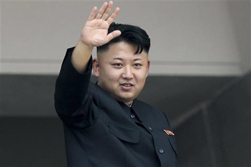 North Korea's leader Kim Jong Un (AP Photo/Wong Maye-E)