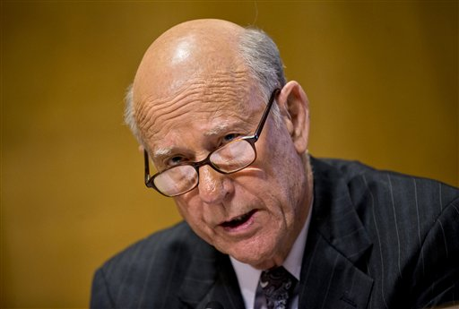 Sen. Pat Roberts, R-Kansas (AP Photo/J. Scott Applewhite)