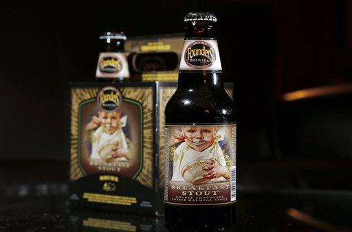 Founders Brewing Breakfast Stout (AP Photo/Elise Amendola)