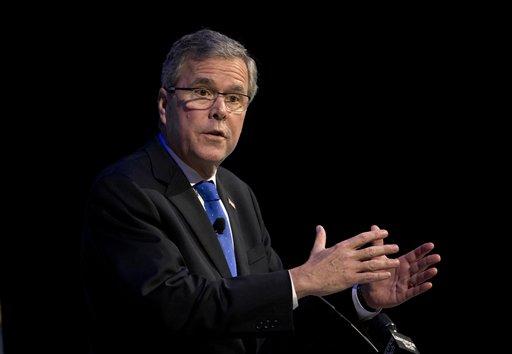 Former Florida Gov. Jeb Bush  (AP Photo/Paul Sancya)