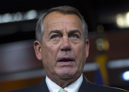 House Speaker John Boehner of Ohio  (AP Photo/Molly Riley)