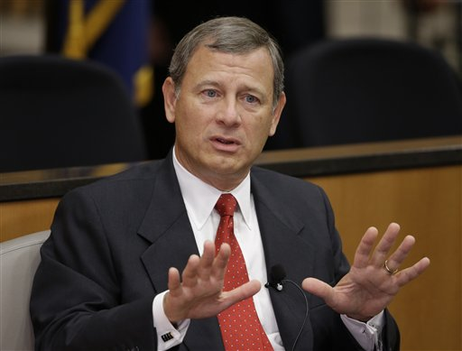 Chief Justice John Roberts (AP Photo/Nati Harnik)