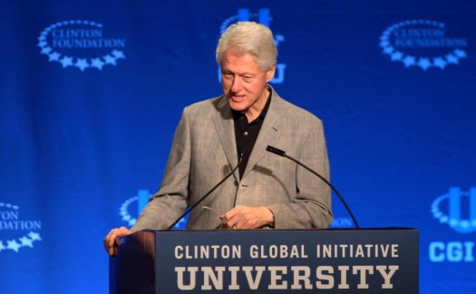 Former President Bill Clinton (AP Photo/Gaston De Cardenas)