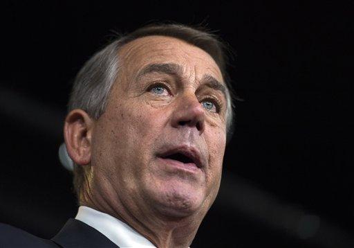 House Speaker John Boehner of Ohio. (AP Photo/Molly Riley)