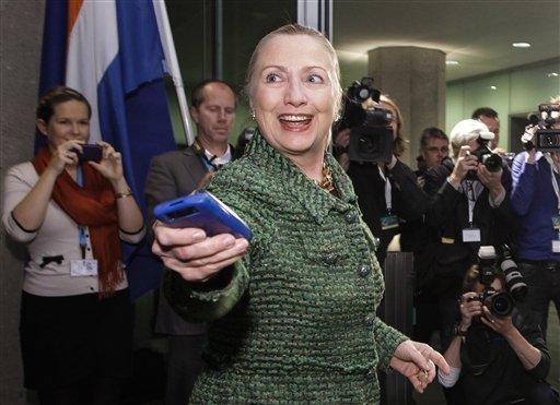 Former U.S. Secretary of State Hillary Rodham Clinton.  (AP Photo/J. Scott Applewhite, Pool/File)