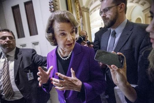 Senate Intelligence Committee Vice Chair Sen. Dianne Feinstein, D-Calif.  (AP Photo/J. Scott Applewhite)
