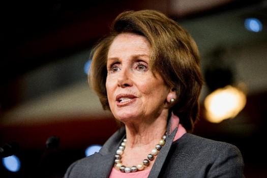 House Minority Leader Nancy Pelosi of Calif.  (AP Photo/Andrew Harnik)