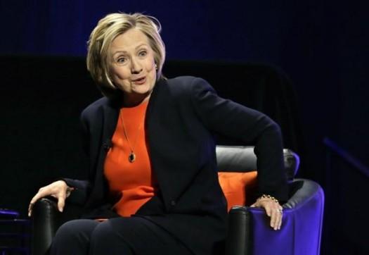 Hillary Rodham Clinton: Tapping deep pockets.