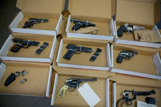 Guns on sale in Oregon.