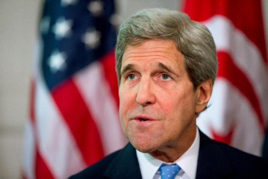 Secretary of State John Kerry . (AP Photo/Andrew Harnik)