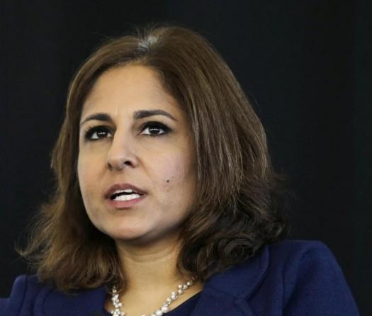 Neera Tanden, president of Center for American Progress. (AP Photo/Mel Evans)