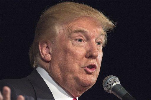 Republican presidential hopeful Donald Trump  (.AP Photo/Stephen B. Morton)