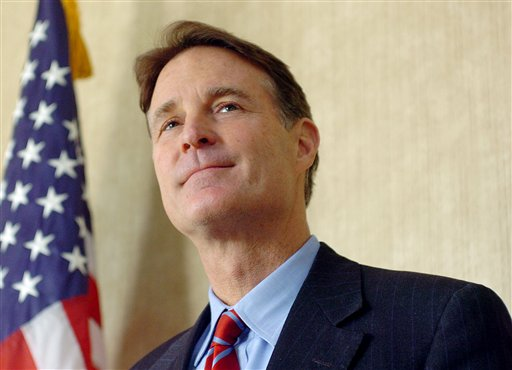 FILE- In this Dec. 20, 2010 file photo, Sen. Evan Bayh speaks at Fort Wayne International Airport, Fort Wayne, Ind. Members of Congress can pretty much do whatever they want with leftover campaign cash when they leave office except use it for personal expenses. Former Indiana Sen. Evan Bayh has kept $10 million in campaign contributions for the last five years, leaving people wondering whether he'll use it to return to politics. (Samuel Hoffman/The Journal Gazette, File)