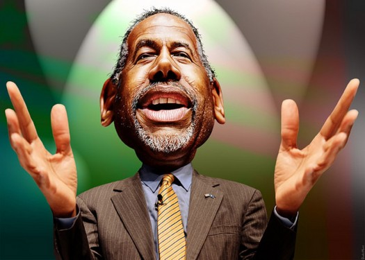 Ben Carson: A different color but still a racist and a bigot who hates without hesitation and lies on demand.