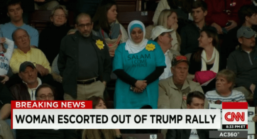 A sad, grotesque moment in American politics.