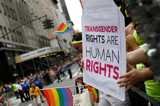 Rights for transgenders.