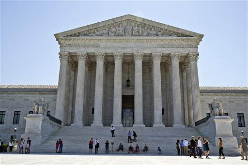 The Supreme Court is set to close out its current term with opinions Monday in three remaining three cases after a flurry of decisions last week. It's expected to be the justices' final meeting before they disperse on their summer breaks. (AP Photo/Alex Brandon, File)