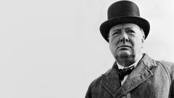 Winston Churchill: A great leader with mental problems.