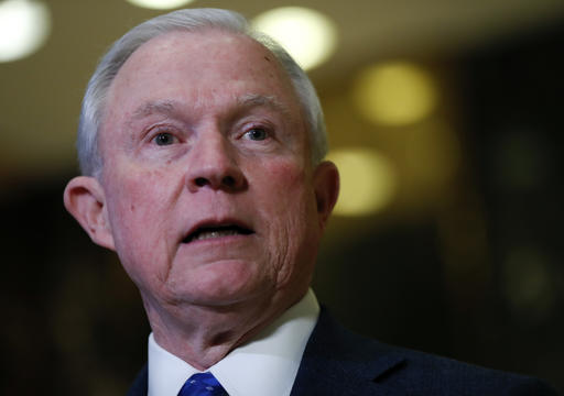 In this Nov. 17, 2016, photo, Sen. Jeff Sessions, R-Ala. speaks to media at Trump Tower in New York. As a senator, Sessions became Congress' leading advocate not only for a crackdown on illegal immigration, but for slowing all immigration, along with mass deportations and stricter scrutiny of those entering the U.S. As attorney general, he'd be well positioned to turn those ideas into reality. (AP Photo/Carolyn Kaster)