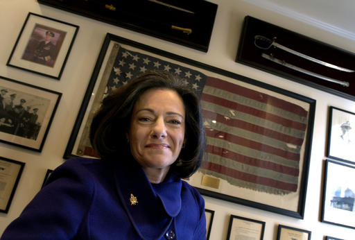"FILE - In this march 6, 2006 file photo, Kathleen ""KT"" McFarland is seen at her home in New York. President-elect Donald Trump has tapped Fox News analyst McFarland to serve as deputy national security adviser. (AP Photo/Jason DeCrow, File)"