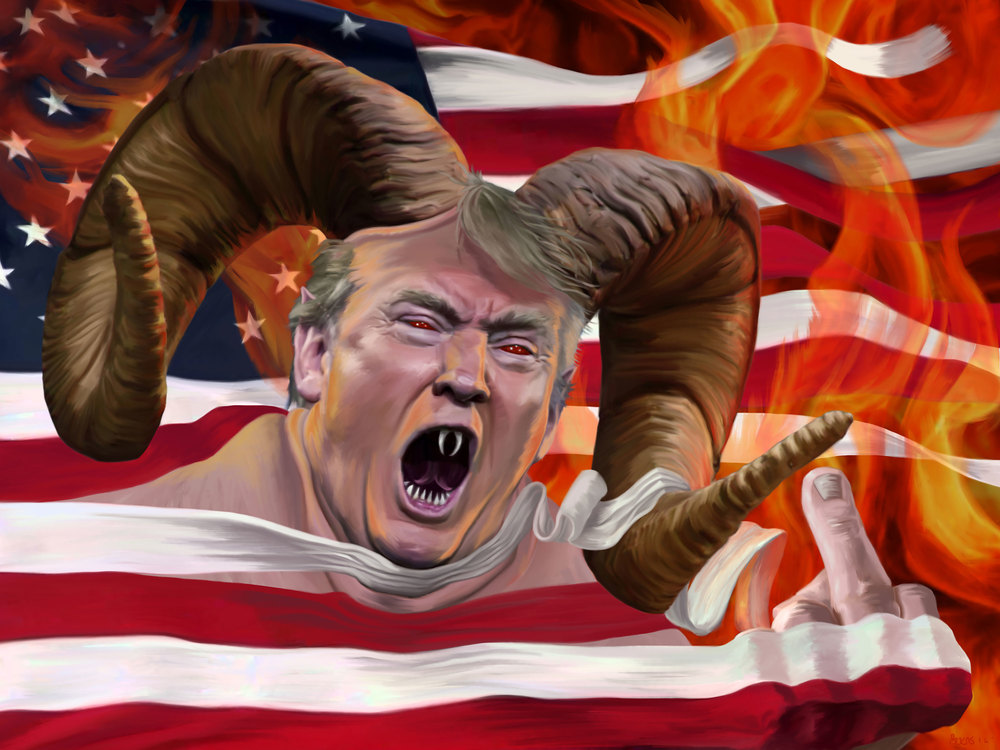 Donald Trump: Our national nightmare