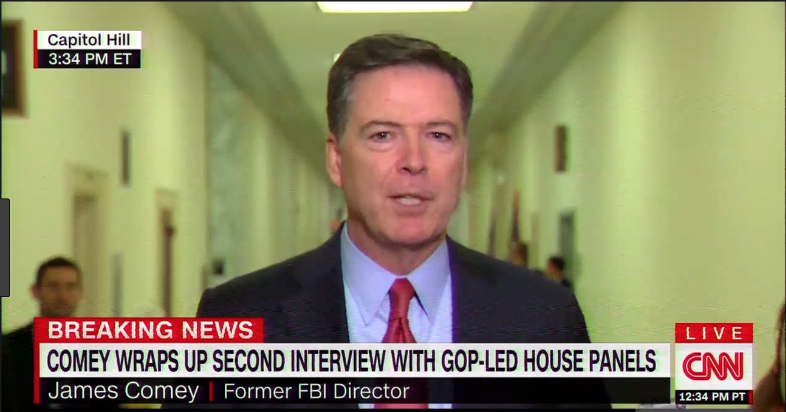 Comey blasts Trump over FBI Cohen raid tweet