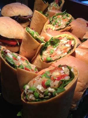 Wraps o'plenty (Image: Cafe ABoDegas)