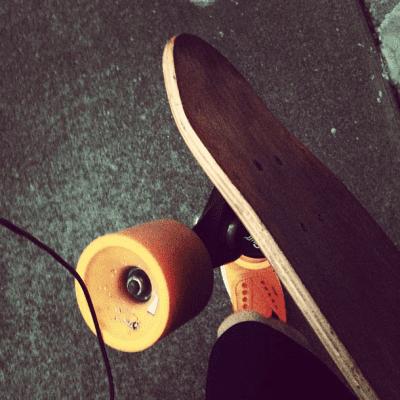 It's longboard season on Capitol Hill, CHS Flickr pool contributor thejedi says
