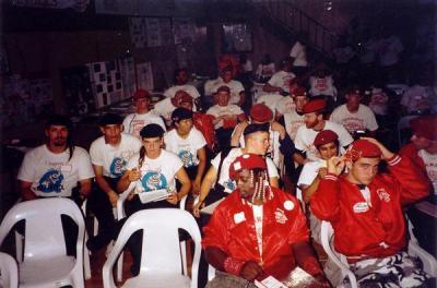 Members of Seattle's Q-Patrol circa 1994 (Image: Reno Guardian Angels)