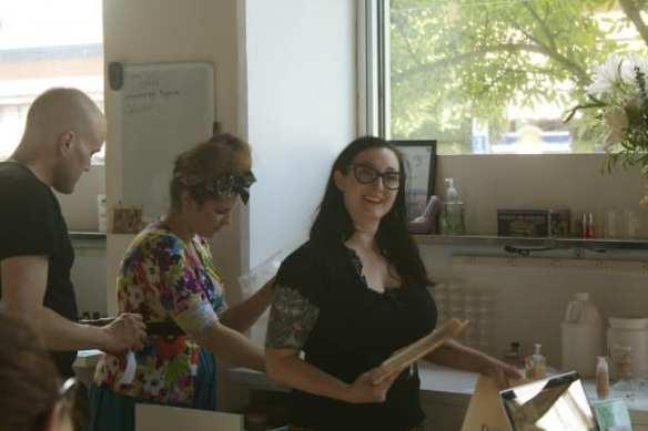 Dr. Jen consults (Images: CHS)