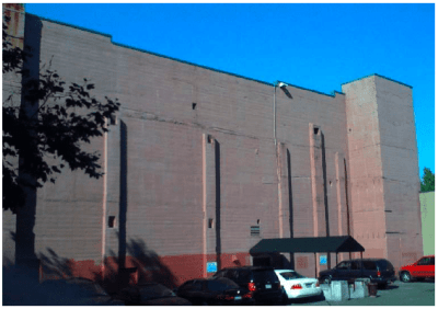 """""""What this giant mauve wall on Pike needs is a $15,000 mural,"""" CHS wrote in 2009"""