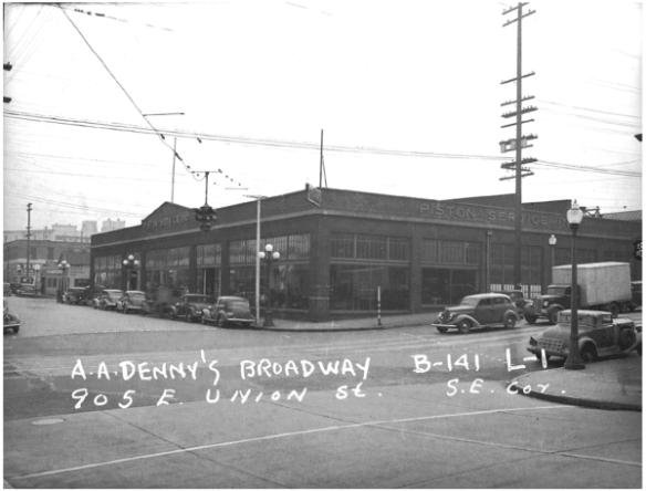 The Great Western Motors Building in 1937