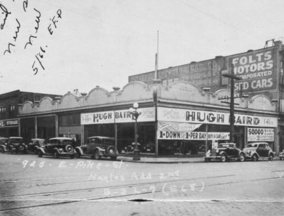 The Neumos corner as it looked in the early 20th Century