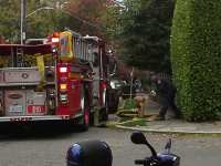 Photo sent to us by Jim Simandl of SFD activating an area hydrant