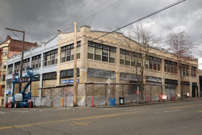 The Greenus Building will be trattoria-less (Image: Hunters Capital)
