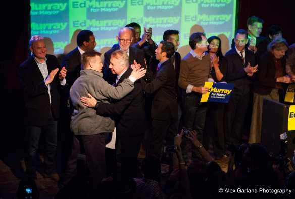 Pedersen, left, was also a winner Tuesday night (Image: Alex Garland for CHS)