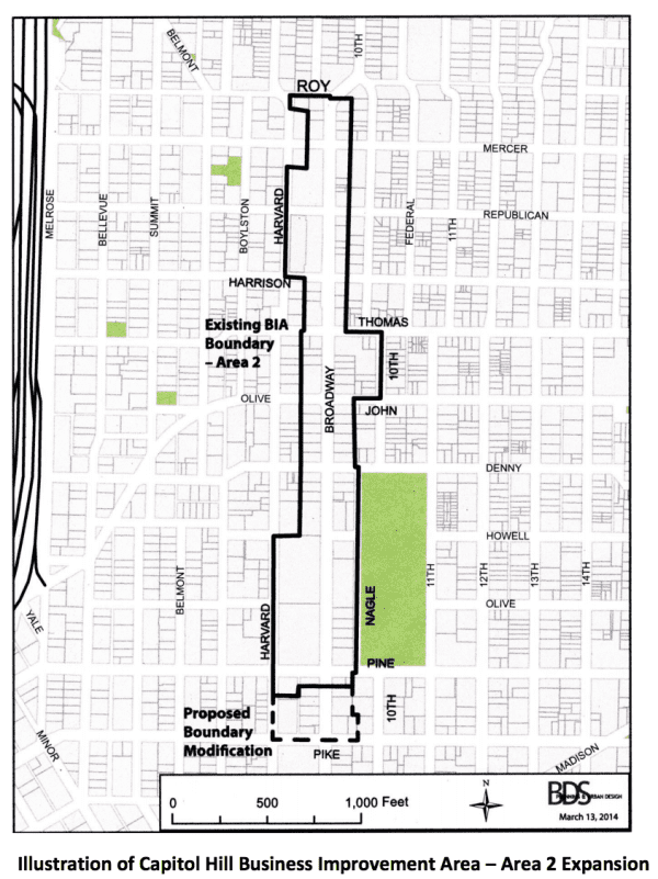 Effort to expand Broadway improvement district in 2014