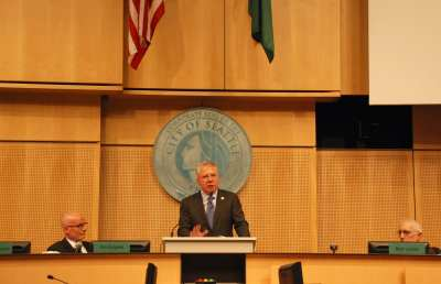Murray delivers his first State of the City address (Photo: City of Seattle)